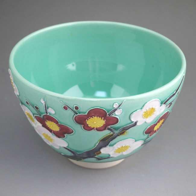【京焼 清水焼】抹茶茶碗虎