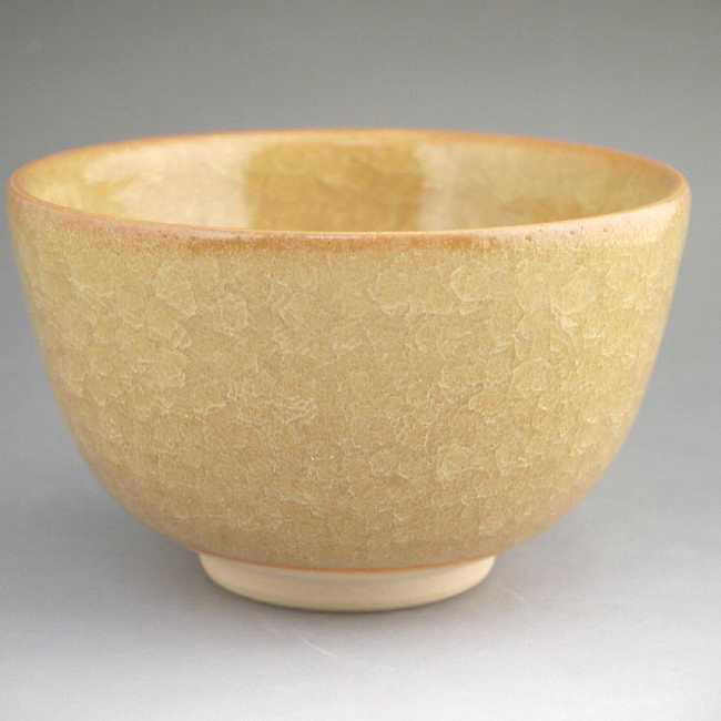 青磁抹茶茶碗 清水焼