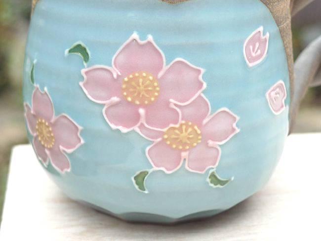 【京焼 清水焼】焼締マグカップ 雅楽
