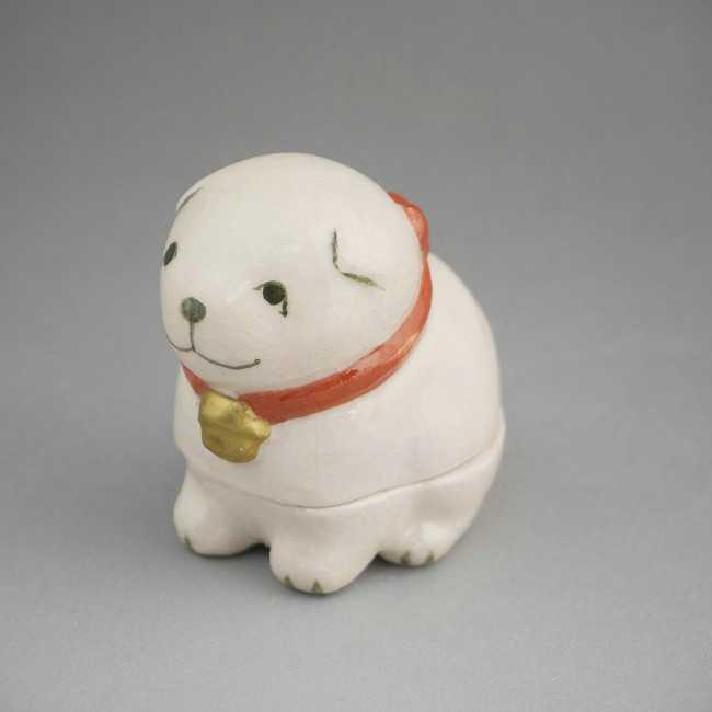 【京焼 清水焼】牧童 牛 香合