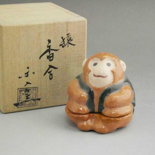 【京焼 清水焼】福牛 香合