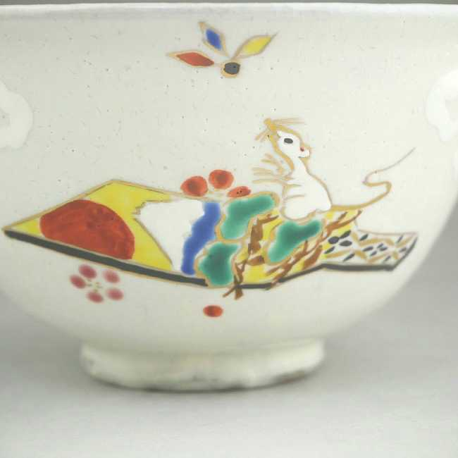 【京焼 清水焼】抹茶碗 鳳凰