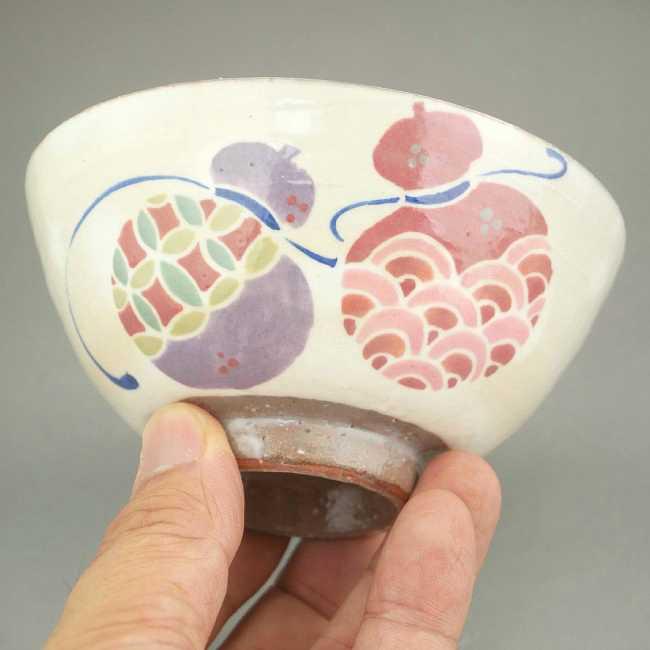 京焼清水焼招福六瓢の器夫婦茶碗と夫婦湯呑