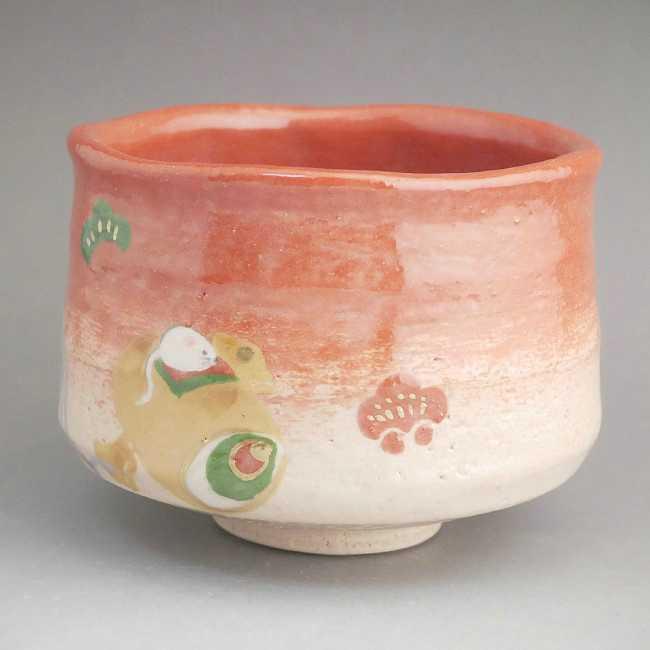 【京焼 清水焼】抹茶茶碗 龍