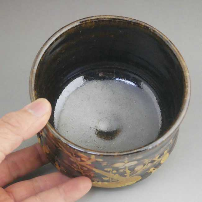 氷裂貫入青磁天目茶碗 柳窯 西嶋秀樹