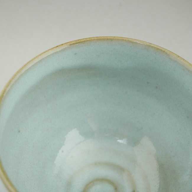 【京焼清水焼】粉引 丸形湯飲み