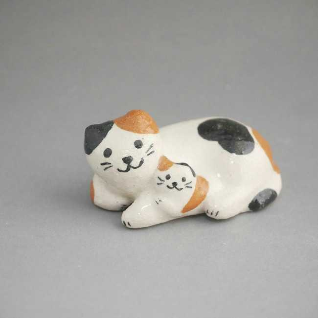 【京焼 清水焼】猫箸置き 清水焼