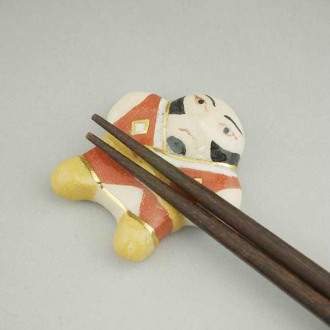 【京焼 清水焼】やっこ凧箸置き 清水焼