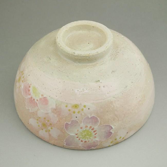 【京焼 清水焼】花の雲ご飯茶碗  瑞光