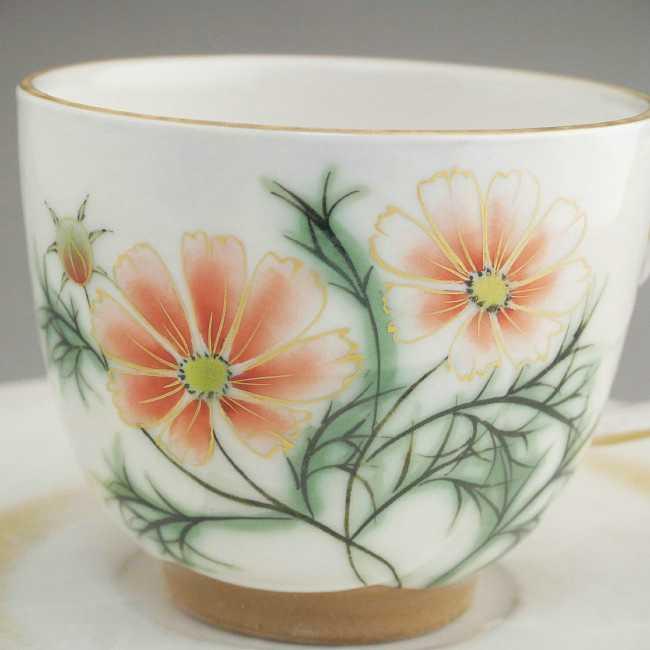 コスモスコーヒー茶碗陶あん