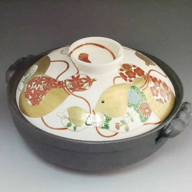 六瓢草花土鍋 善昇