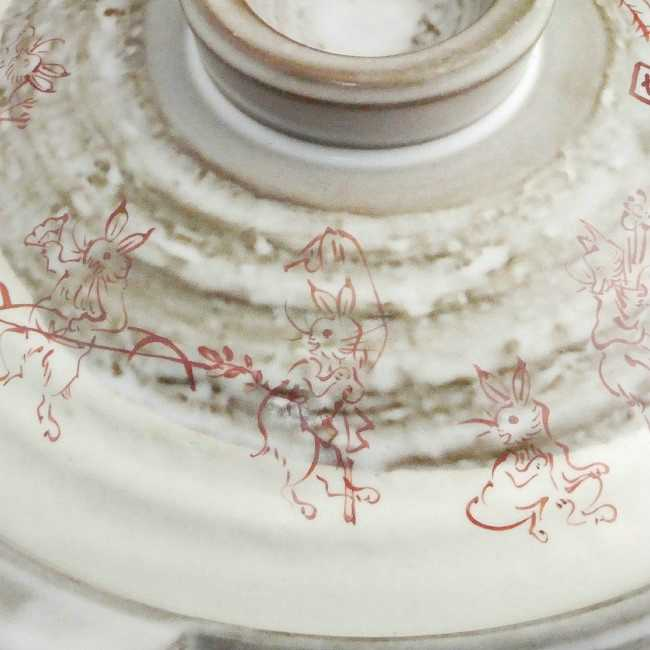 鳥獣戯画土鍋