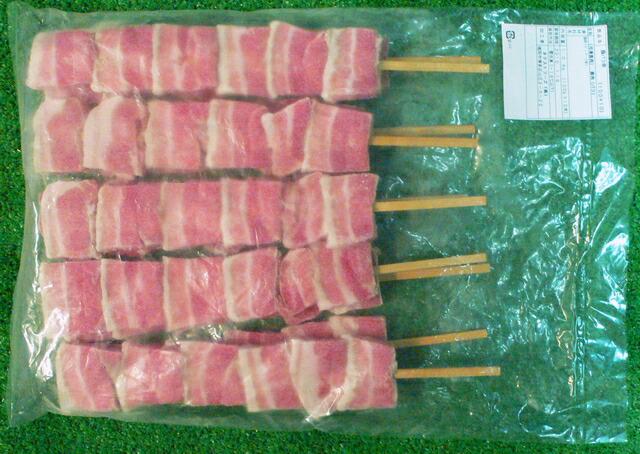 ジャンボ豚バラ串100g×10本