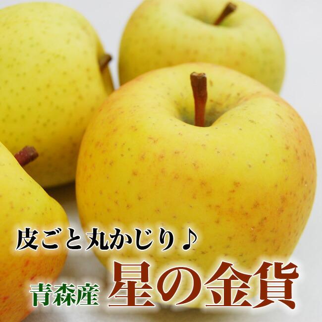 青森産りんご「星の金貨」