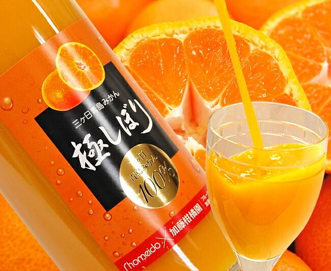 【加藤柑橘園】青島三ケ日みかんジュース