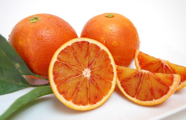 ブラッドオレンジ全体