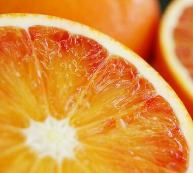 ブラッドオレンジの切り画像