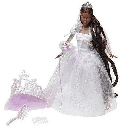 78ca79c1cfdd5 バービー バービー人形 ウェディング ブライダル 結婚式 J1015 Barbie Princess - Rapunzel s Wedding -  African American Rapunzel Wedding Dollバービー バービー ...