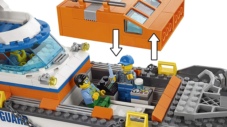 LEGO 60167 Coast Guard Head Quarters Construction Toy