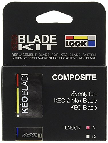 Look Keo 2 Max Blade Replacement Kit 8Nm White