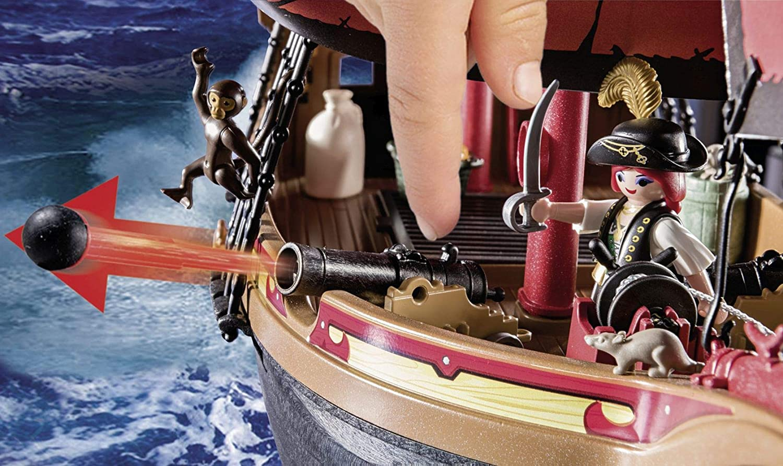 playmobil ausmalbilder pirat  treasure isle  pirates