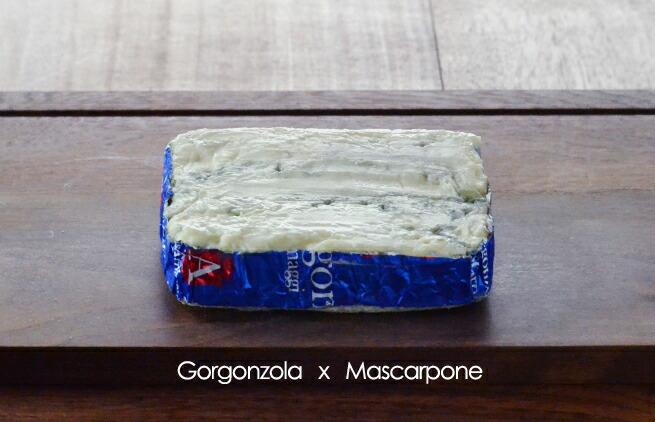 ゴルゴンゾーラマスカルポーネ2