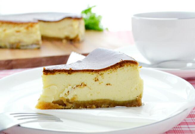 ピーチメルバチーズケーキ