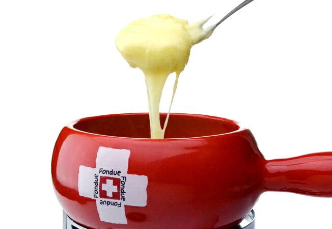 チーズフォンデュセットスイスレッド4