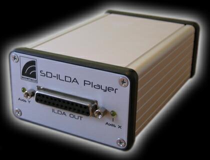 SD-ILDA Player rear view