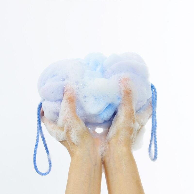 マーナ泡工場背中も洗えるシャボンボールB691