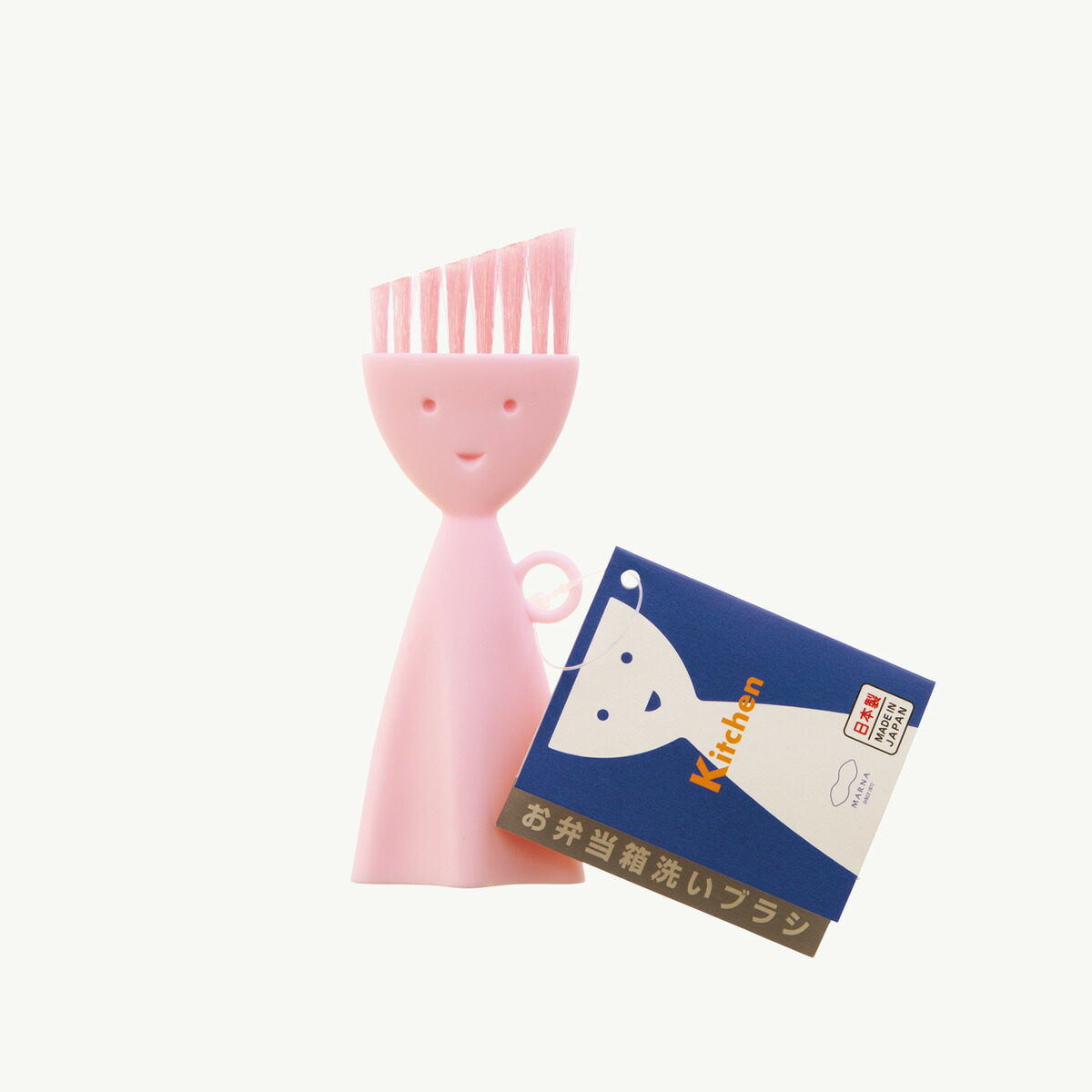 マーナ お弁当箱洗いブラシ K187