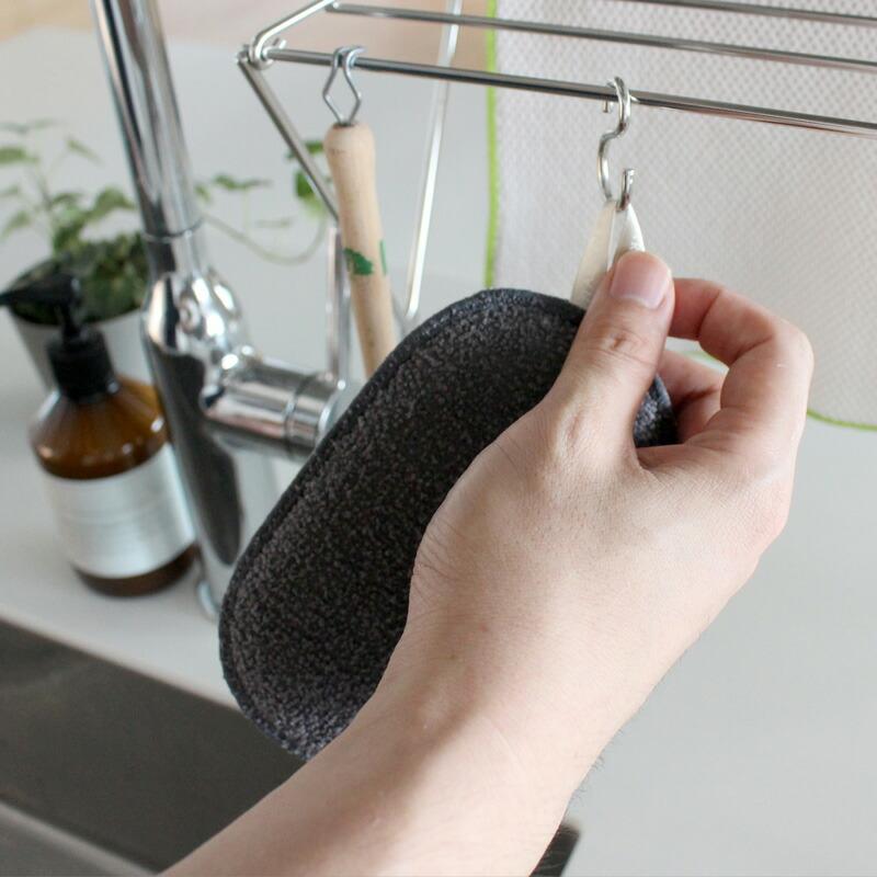 【メール便・送料150円】マーナこれは使える!食器洗いスポンジ005