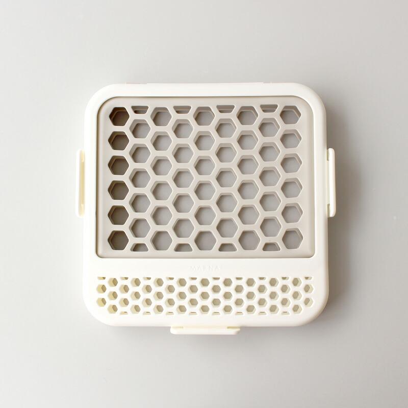マーナ食洗機用小物ネット(ホワイト)K693