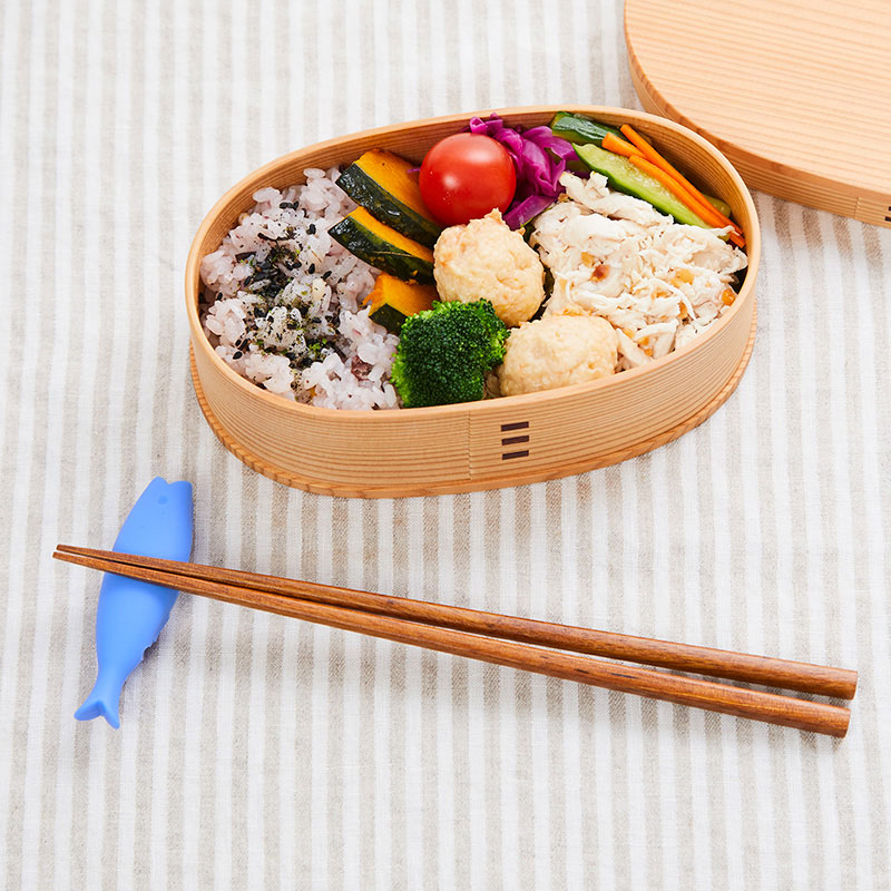 マーナお箸カバーさかな(ブルー)K723B