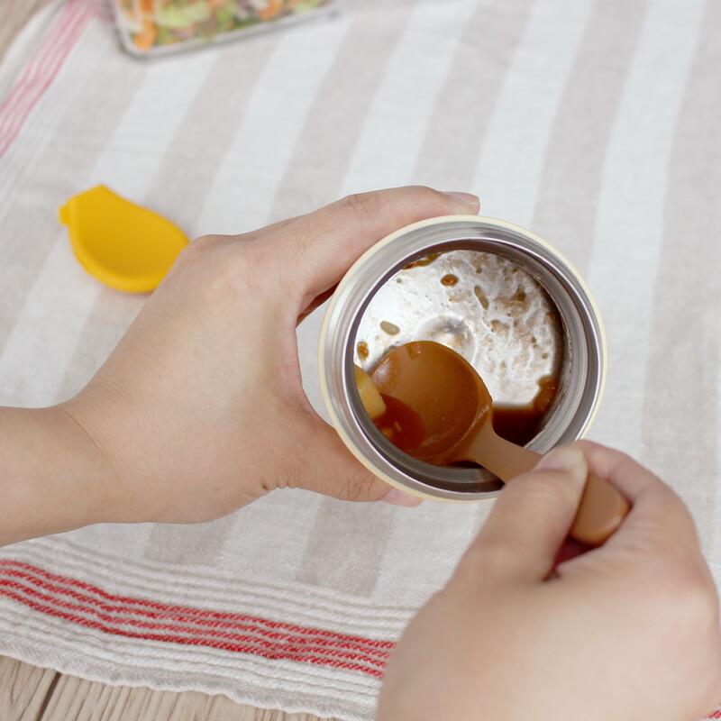 マーナ スープジャーのためのランチスプーン ロング K733