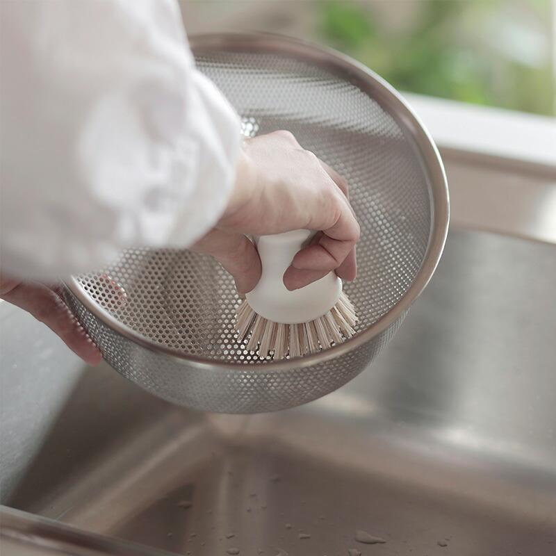 マーナ抗菌キッチンブラシK750