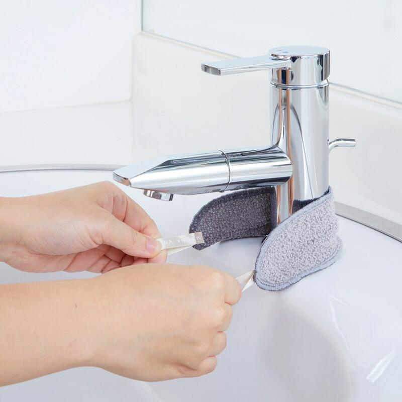 マーナこれは使える!水垢とりスポンジW179