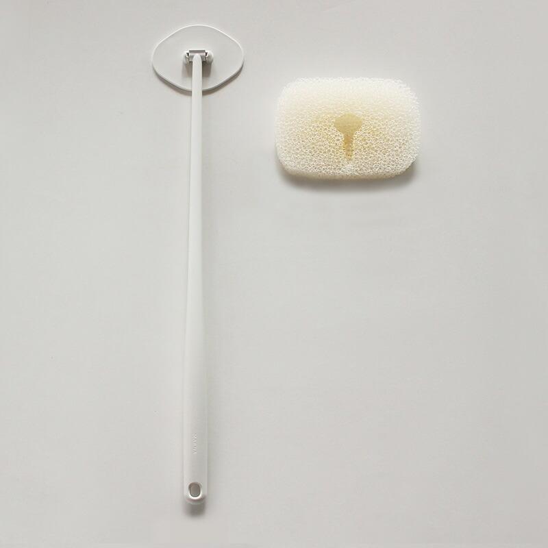 マーナお風呂の柄付きスポンジリフィルW606