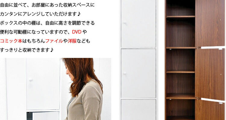 マルチカラーボックス3D【NEST.】
