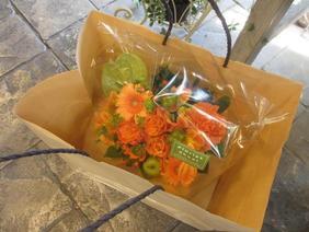 アレンジ用紙袋