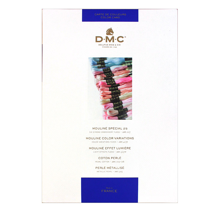DMC 刺しゅう糸色見本帳 W100B