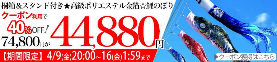 【C6041】龍光鯉のぼり