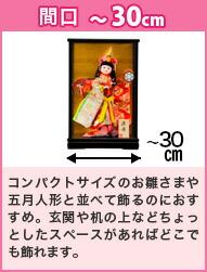 間口〜30cm