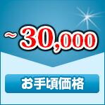 お手頃価格 3万円以下