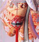 羽子板:まり飾り