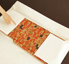 イカス*キモノセレクト 着物用のシンプルな無地文庫紙/たとう紙(台紙なし)