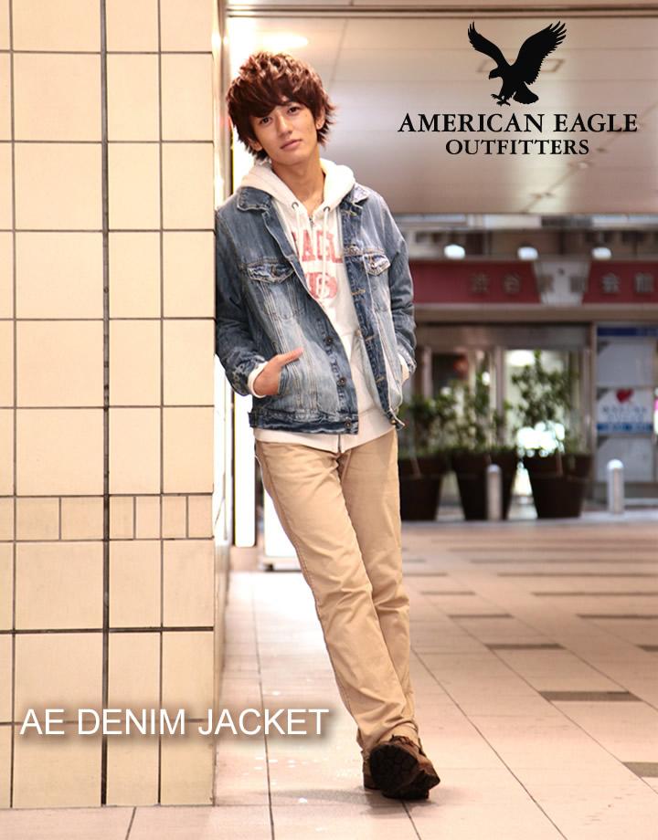 メインイメージ - Shushubiz Rakuten Global Market: American Eagle Men Denim Jacket