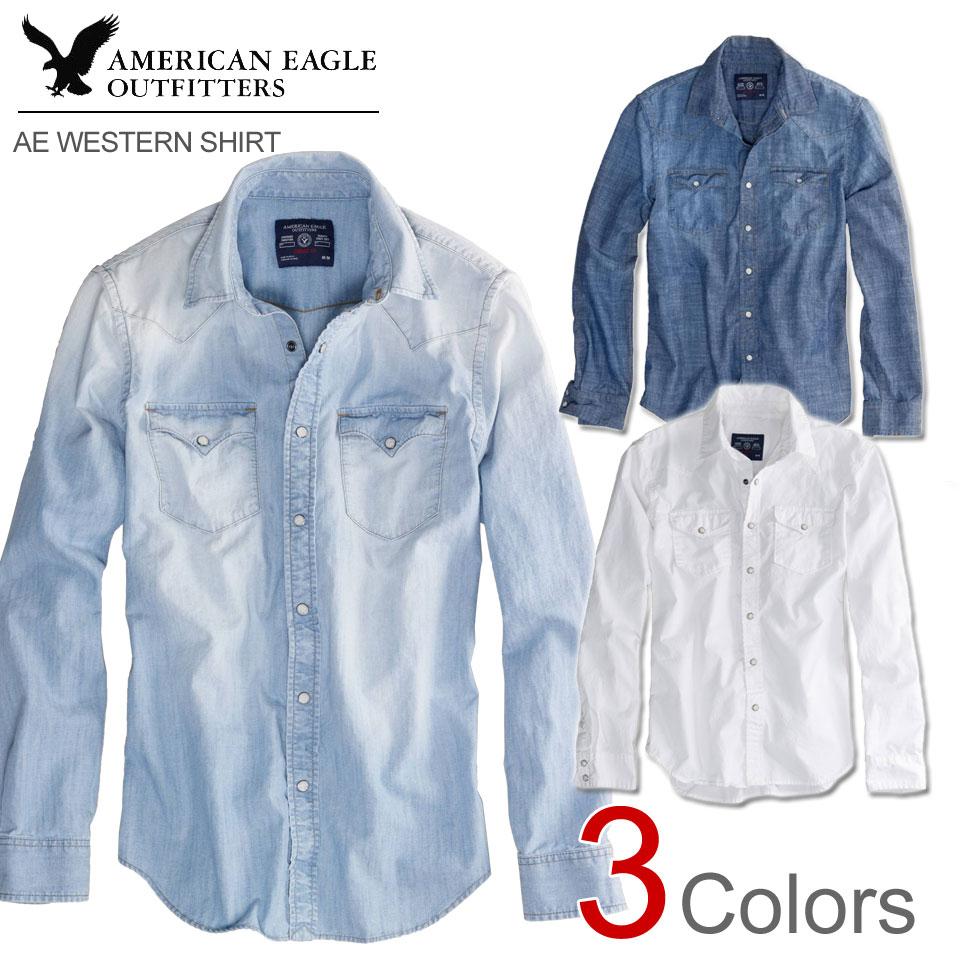 Images of Blue American Eagle Shirt - Asianfashion