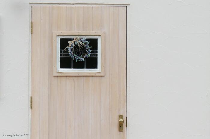 オリーブのリース*玄関ドア用リース