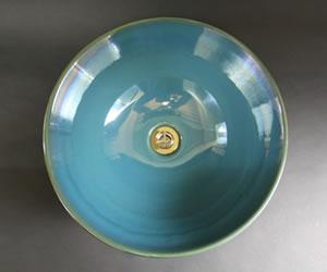 しがらきやき手洗い器 陶器洗面ボール 手洗器
